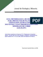 Guia Metodologica Seguridad Proyectos Plantas Lixiviacion Extraccion Solventes