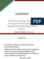 Leadership(f)