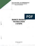 Banco Basico Tecnologia I Etapa