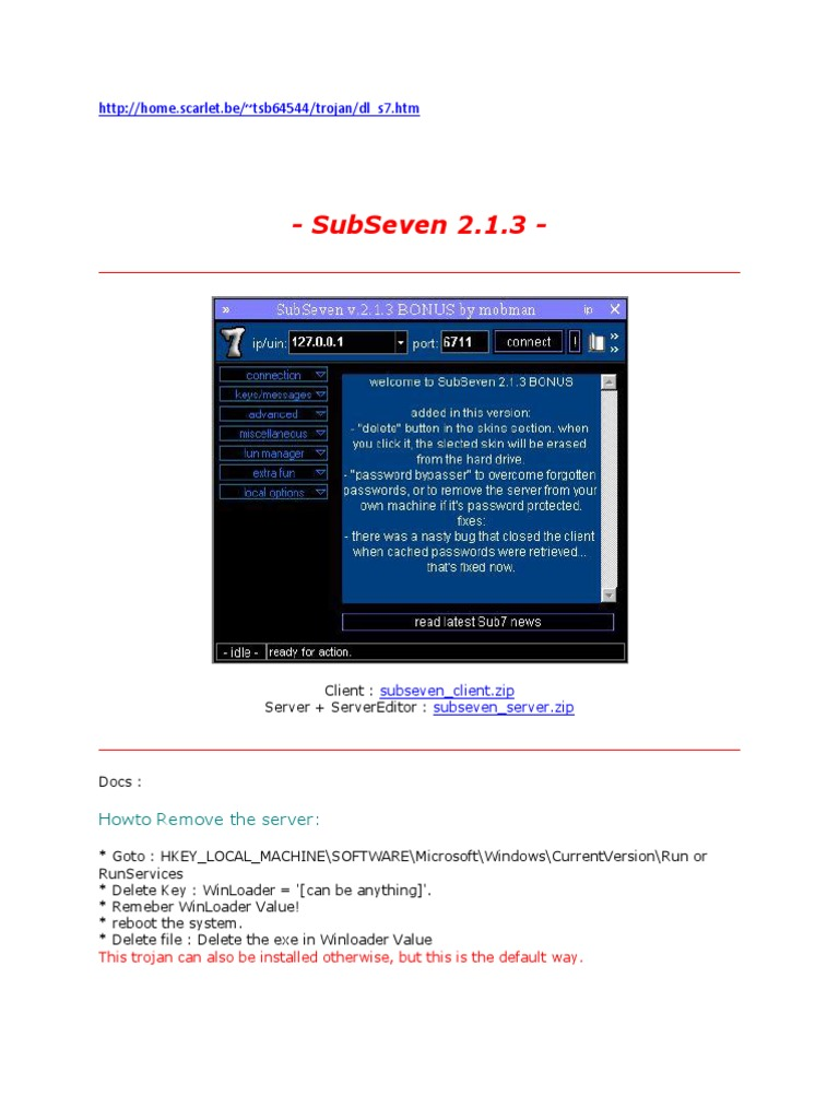 subseven 2.1.3
