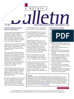 Retail Consulting - National Retail Bulletin - J.C. Williams Group - February 2009