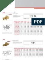 Giacomini - Modelo A61 -Valvula de Prueba y Drenage