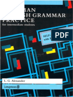 English Grammar Practice for Intermediate Students (By L. Alexander)