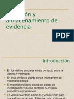 Colección y almacenamiento de evidencia