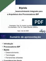 BipIde - Apresentação Semana da Computação - Univali