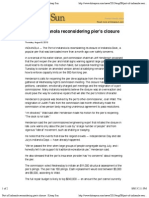 Port of Indianola Reconsidering Pier's Closure