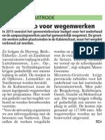 Artikel HBVL 2/8/2013 - Wegeniswerken 2013