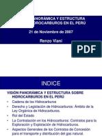 Vision panorámica Hidrocarburos en el Perú