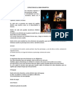 ESTRUCTURA DE LA OBRA DRAMÁTICA