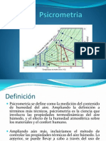 1ra Unidad Psicrometria