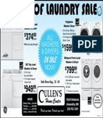 Cullens Loads of Laundry Sale