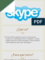 Presentación de Skype
