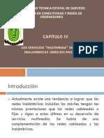 CAP 04- Servicios Multimedia En Redes Inalámbricas
