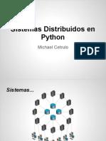 Sistemas Distribuidos en Python - PyCON 2012