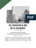 NO CONOCISTE EL D+ìA DE TU VISITACI+ôN --++