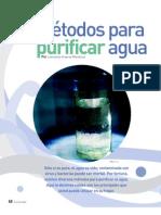 Métodos para purificar agua