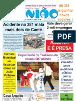 2009.05.27 - Acidente na 381 matam mais dois de Caeté - Jornal Opinião