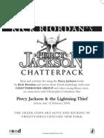 Percy Jackson Teachers Pack