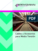 Cables y Accesorios Para Media Tension 2013