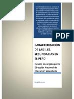 Caracterización de las secundarias en el Perú COMPLETA