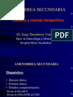 Amenorrea Secundaria 1