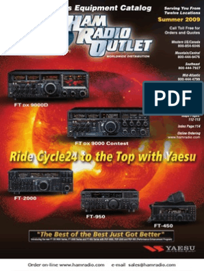 Current Ham Radio Outlet catalog | High Frequency | Radio