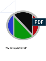 The Templist Scroll