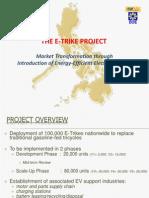 E-Trike Presentation to Marikina (18 July 2013)