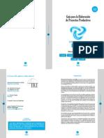 Guía Elaboración Proyectos Productivos