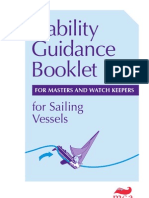 Sailing Ship Stability Guidance Booklet