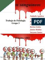 fisio- Tipos sanguíneos