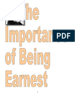 The Importance of Being Earnest Text