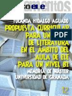 Hidalgo Literatura