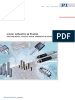 2009 PI Linear Actuators and Motors Catalog