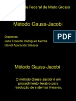 Método Gauss-Jacobi