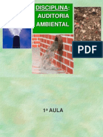 Curso Auditoria Ambiental-Aulas 1,2,3,4