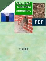 Curso Auditoria Ambiental-Aulas 1,2,3,4