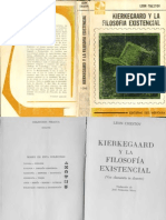 Chestov, Leon - Kierkegaard y la filosofía existencial