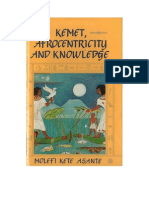 Molefi Asante - Kemet Afrocentricity and Knowledge