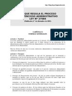 LEY QUE REGULA EL PROCESO CONTENCIOSO ADMINISTRATIVO.doc