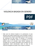 Violencia Basada en Genero Oficial