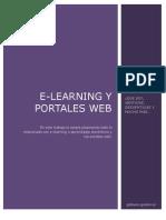 Trabajo de Word. E-Learning y Portales Web
