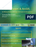 HNIT Baltic-Vytautas Romanaitis- Cellular Expert and ArcGIS for Wireless Networking Planning, Optimization and Management
