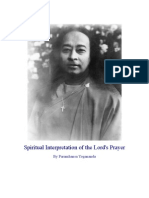 Meaning of the Lord's Prayer, by Paramhansa Yogananda