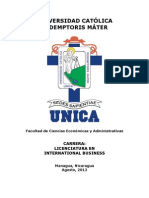 Intenational Business - Unica 2013