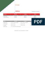 Prices Registered Letter (Posten) 1.1.2013