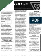August 2006 CLGRO Newsletter