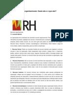 Artigo Para Consulta Em Recursos Organizacionais