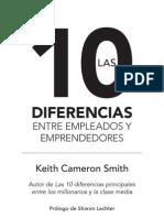 Primeras Paginas 10 Diferencias Entre Empleados Emprendedores