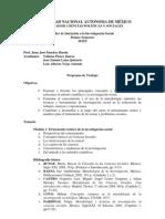 Programa TIIS 2014-I
